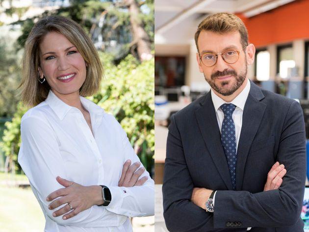 Silvia Intxaurrondo y Marc Sala, presentadores de 'La hora de La