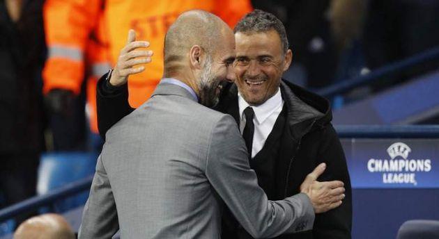 Pep Guardiola y Luis