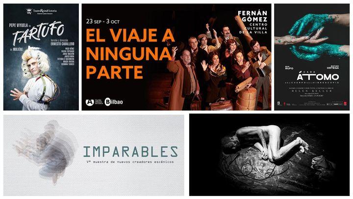 Las cinco obras de teatro que no te puedes perder en septiembre.