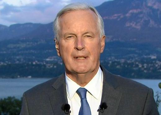 Michel Barnier s'est déclaré candidat à la primaire de la droite sur TF1 ce jeudi...