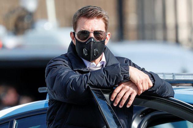 Tom Cruise, ici sur le tournage de
