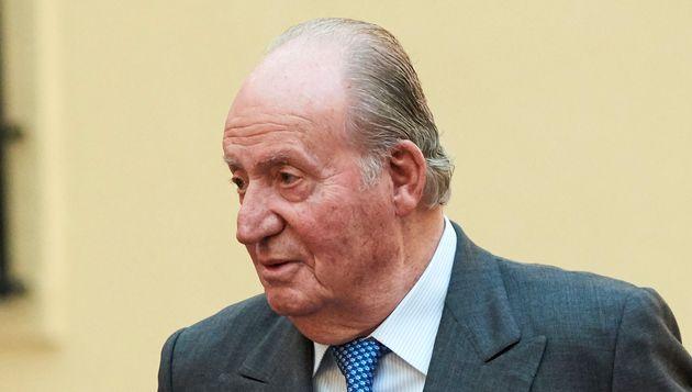 El rey emérito Juan Carlos