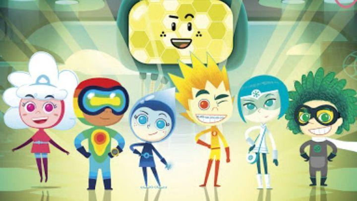 Personajes de 'Meteoheroes'.