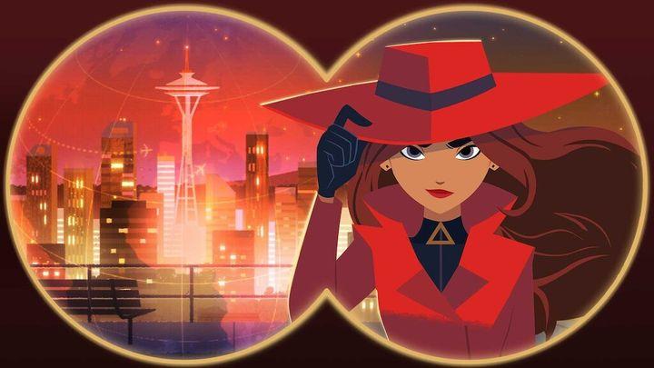 Carmen Sandiego en una imagen promocional de Netflix.