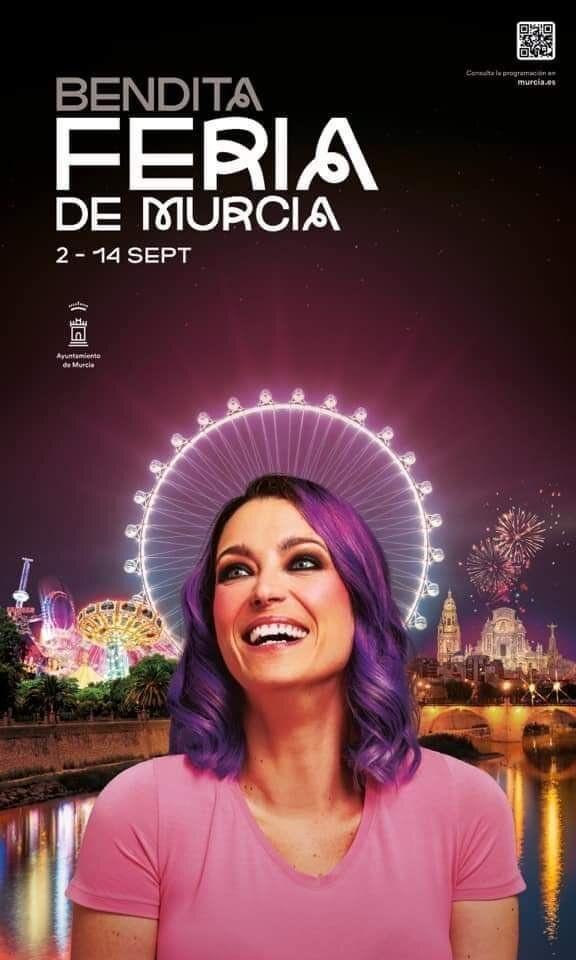 Raquel Sastre, en el cartel de la Feria de