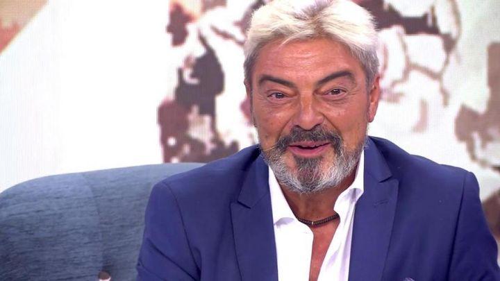 Antonio Canales en 'Sálvame Deluxe'.
