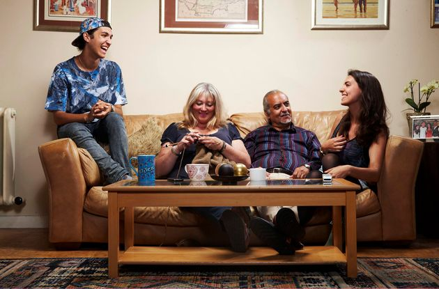 Andy and his family were part of Gogglebox's first ever line-up in