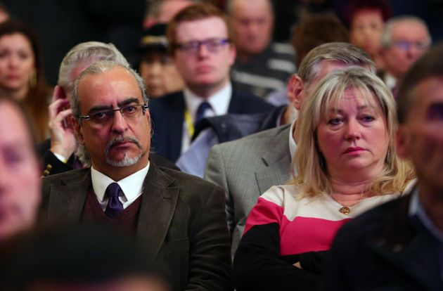 Andy and his wife Carolyne at a UKIP event in