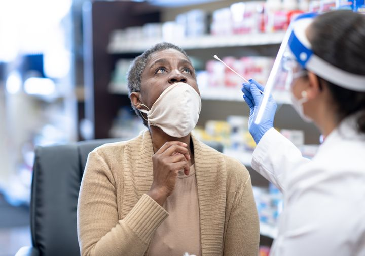 Many local pharmacies and urgent care centers offer rapid antigen tests.