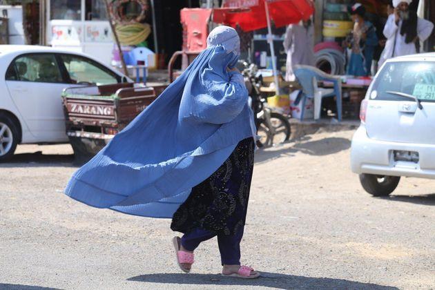 HERAT, AFGHANISTAN - AUGUST 22: People are seen on streets in Herat City, Afghanistan, on August 22, 2021, after Taliban takeover. (Photo by Mir Ahmad Firooz Mashoof/Anadolu Agency via Getty Images)