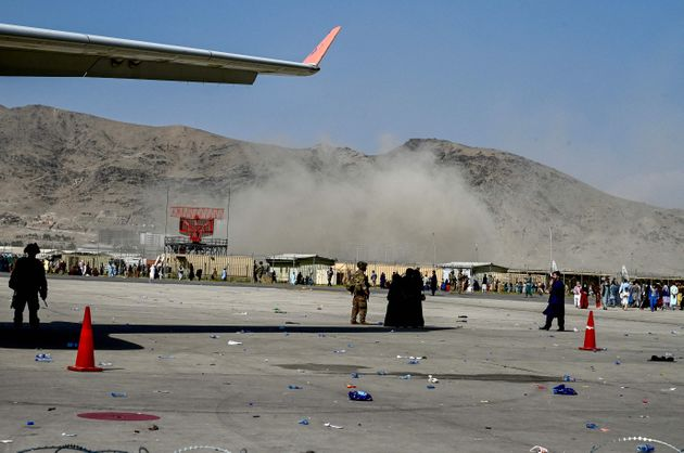 One of many images being circulated on the internet of Kabul