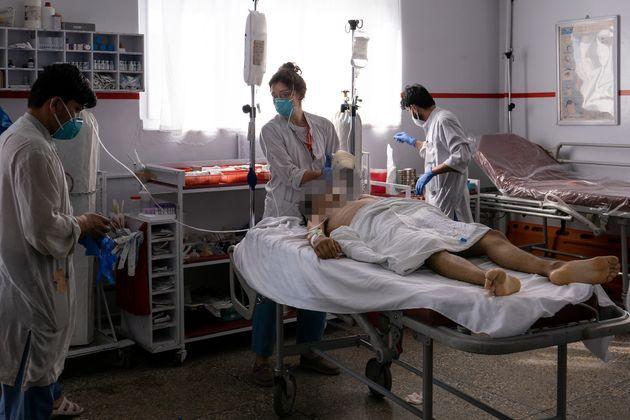 Ornella Spagnolello, Ospedale Emergency di