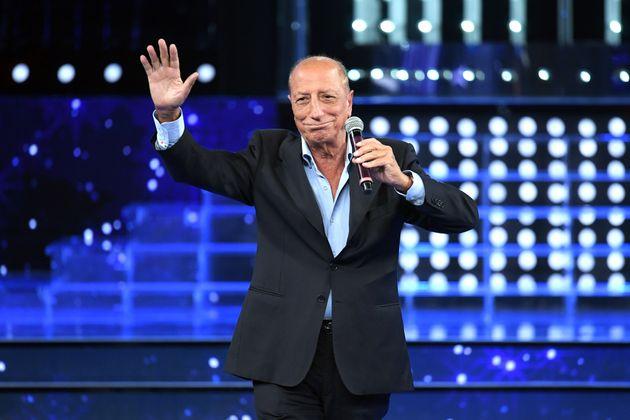 27/09/2019 Roma, Rai 1. Trasmissione televisiva Tale e Quale Show, nella foto l' ospite Pippo