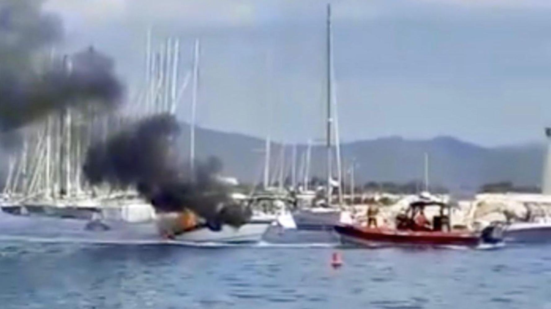 Une explosion sur un bateau dans un port d'Hyères fait plusieurs blessés