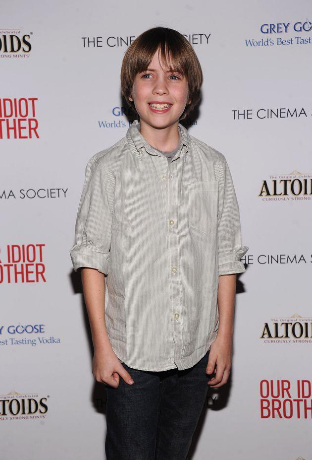 L'acteur Matthew Mindler à New York le 22 août