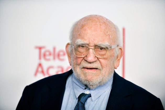 Actor Ed Asner, seen in 2020, has died at the age of