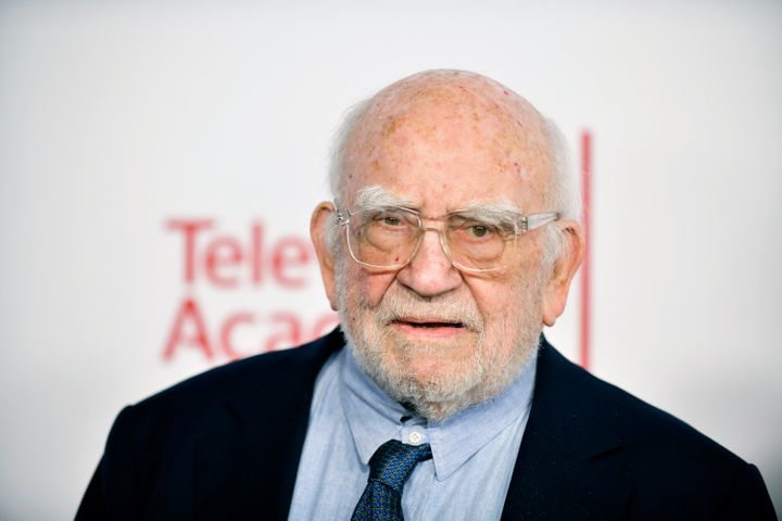 Actor Ed Asner, seen in 2020, has died at the age of 91.