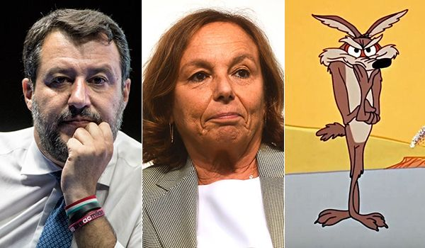 Matteo Salvini, Luciana Lamorgese e Willy il