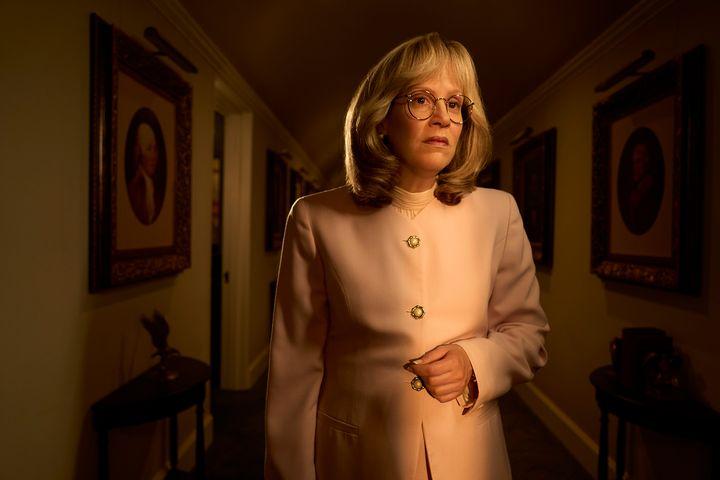 "Sarah Paulson as Linda Tripp in ""Impeachment: American Crime Story."""