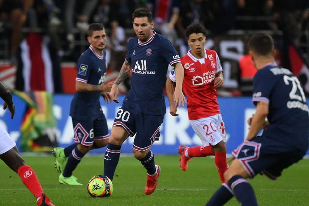 Reims-PSG: Lionel Messi dispute ses premières minutes en Ligue