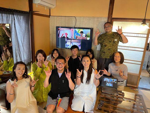 金沢を中心に活動するLGBTQ+関連団体などのみなさんと「Kanazawa旅音」にて