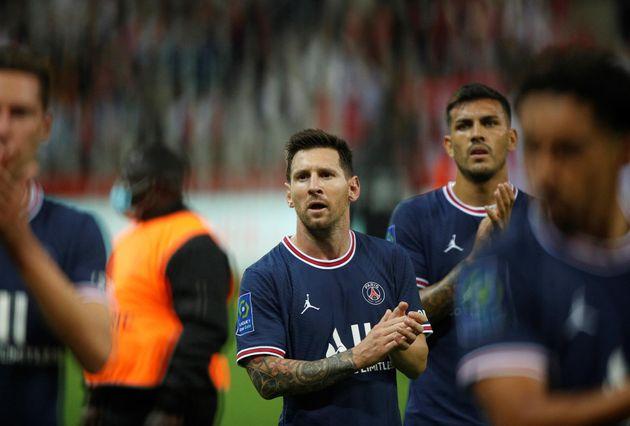 Messi tras el partido del PSG contra el