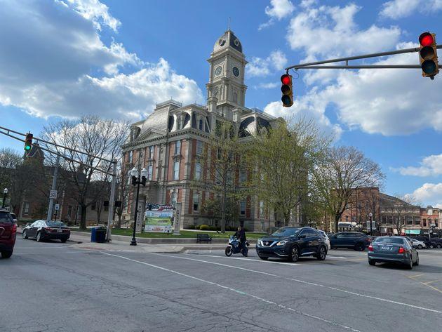岩田さんが住んでいたアメリカの街の風景