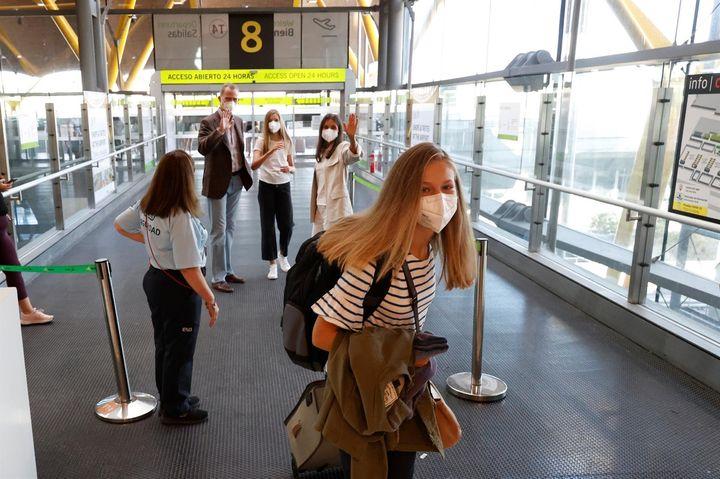 Leonor viaja rumbo a Gales.