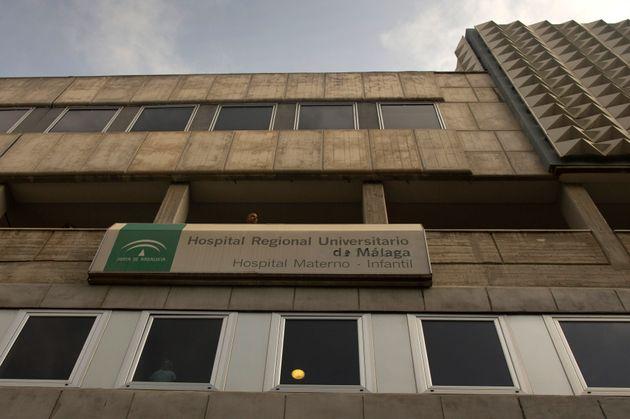 Vista general del Hospital Materno Infantil de Málaga, en una imagen de
