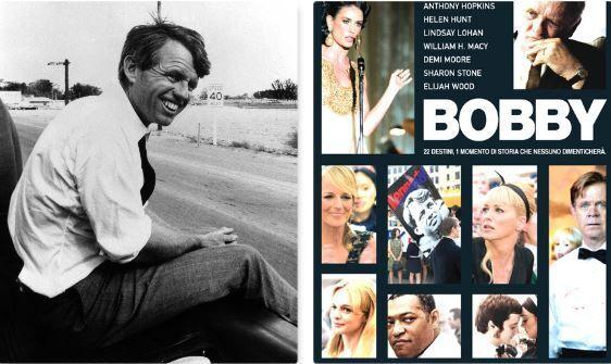 Bob Kennedy e la locandina del film