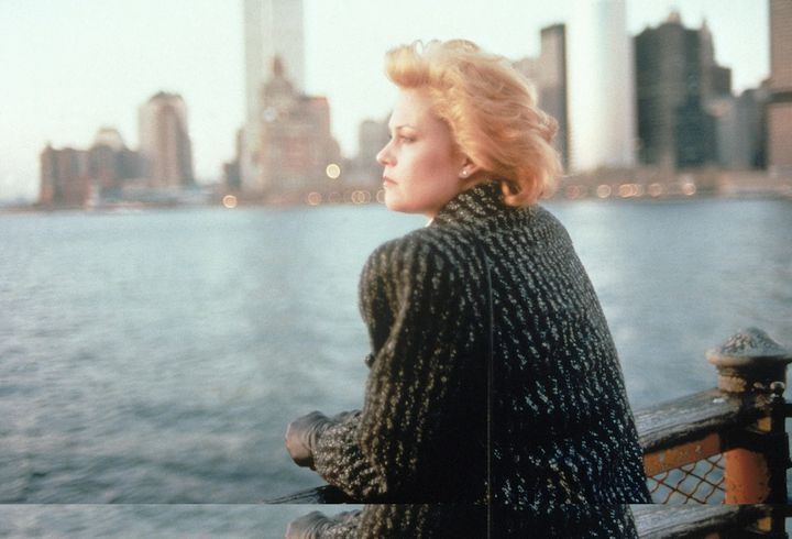 Tess (Melanie Griffith) is a secretary who rides the ferry from Staten Island to her job in Manhattan in her big jacket and bigger '80s hair, hungry to be taken seriously as a businesswoman.