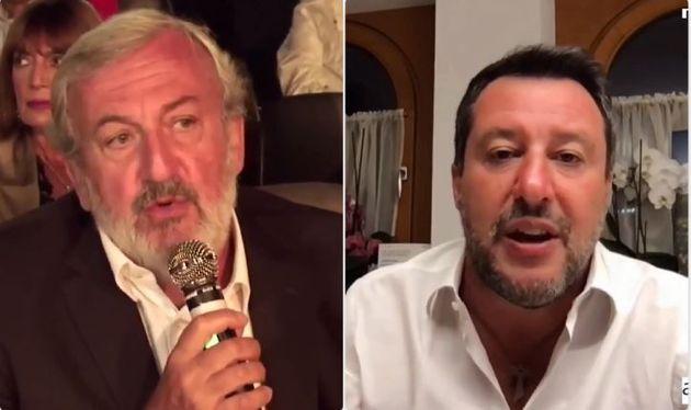 Michele Emiliano - Matteo Salvini