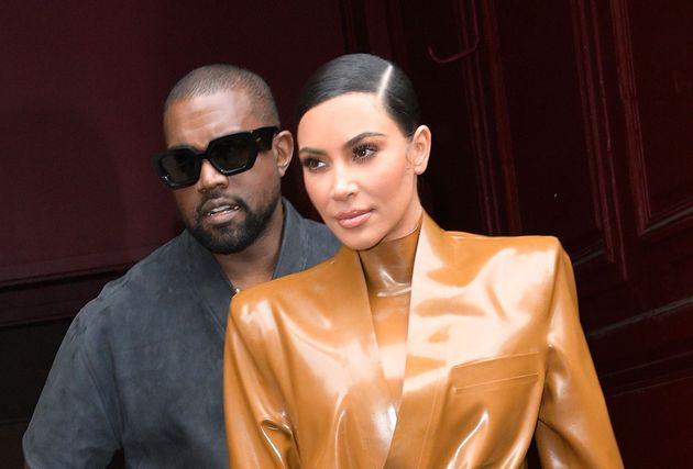 Kim kardashian y Kanye West, en una de sus últimas apariciones públicas