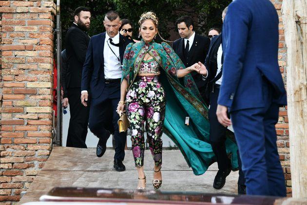 Jennifer Lopez, en