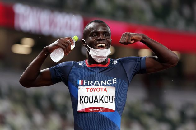 Le sprinteur Charles-Antoine Kouakou, 6e médaille d