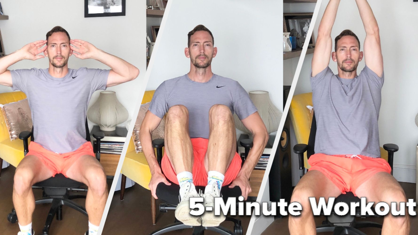 This 5-Minute Workout Can Be Completed From Your Chair