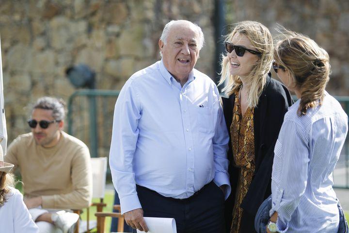 Amancio y Marta Ortega en una imagen de archivo.