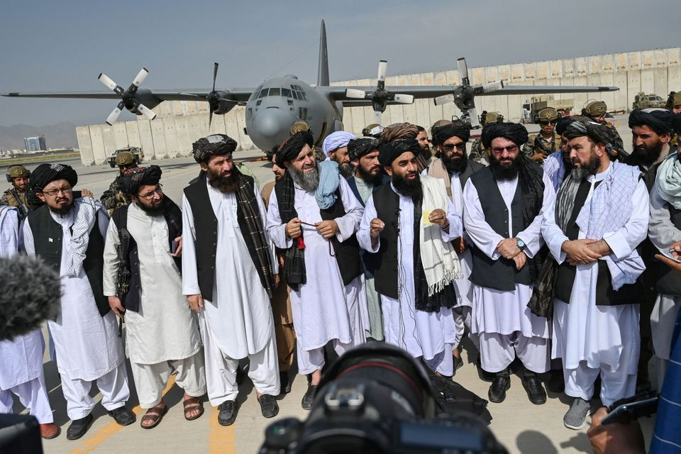 Astonishing Images As The US Withdraws From Afghanistan And The Taliban Takes