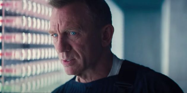 Daniel Craig in the No Time To Die