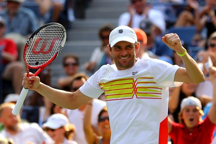 Tennis player Mardy Fish in 2012.