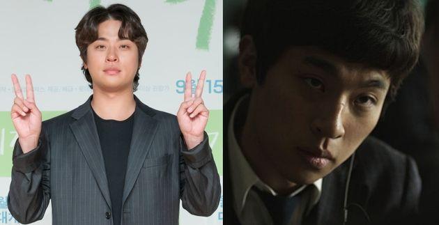 배우 박정민. 박정민이 이름을 알리기 시작한 영화 '파수꾼'에서도 그는 고등학생 연기를