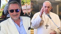 Carlos Herrera trata de hacer una broma con el papa y ocurre lo peor que podría