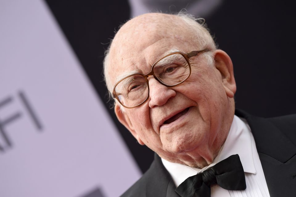"""Actor Ed Asner, who played the character Lou Grant during the 1970s and early 1980s on both """"The Mary Tyler Moore Show"""" and """""""