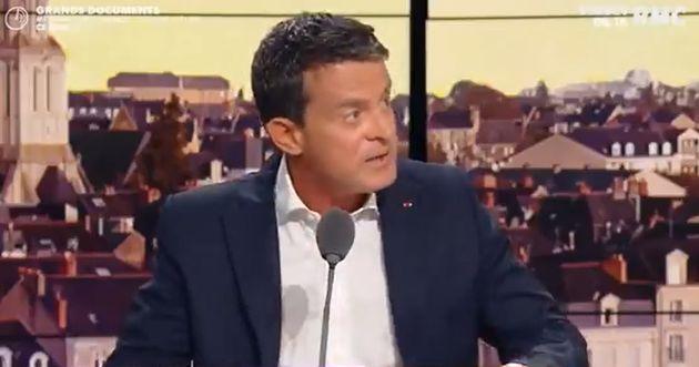 Manuel Valls sur le plateau de RMC mercredi 1er septembre