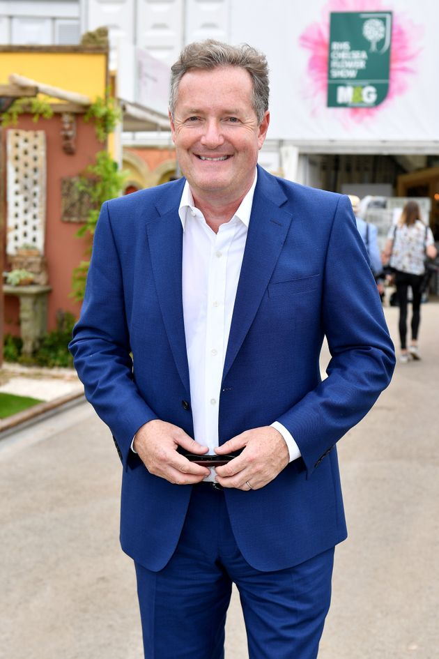 Piers at the Chelsea Flower Show in May
