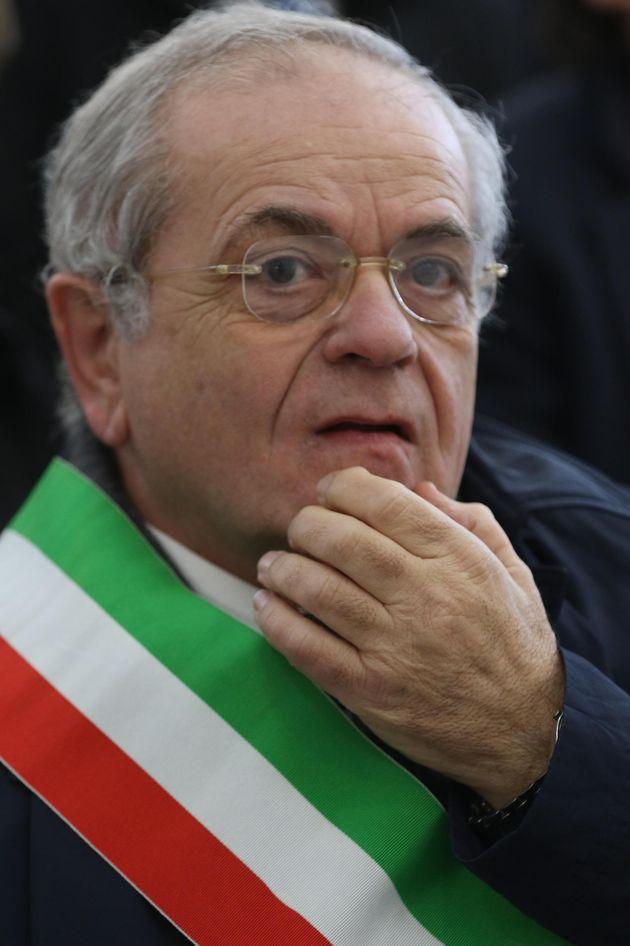 Il sindaco di Casal di Principe Renato Natale