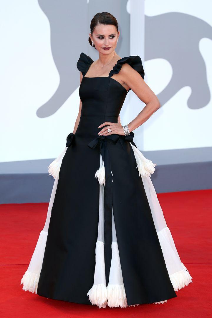 El vestido de Chanel Alta Costura que ha elegido la actriz.
