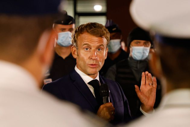 Macron annonce 500 caméras contre le trafic de drogue à Marseille.