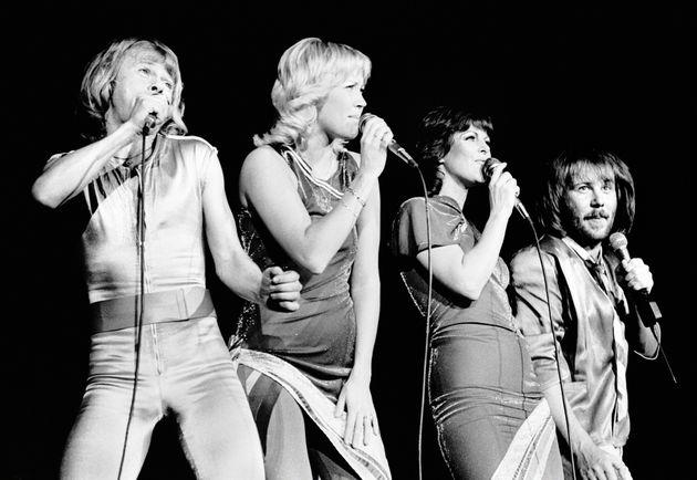 1979年のロンドン公演時のABBA