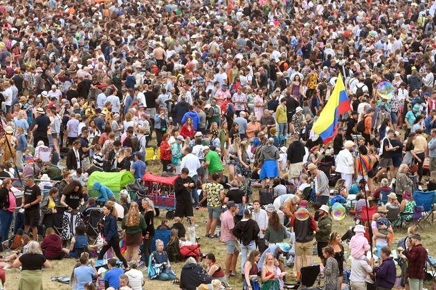 イギリスのラティテュード・フェスティバルの様子(2021年7月24日撮影)